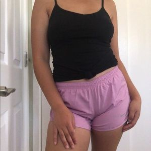 Nike Muted Pink Dri-Fit Athletic Sport Shorts 💗💫